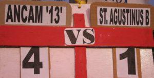 Ancam 13 Unggul 4-1 Versus Agustinus B