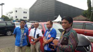 Anggota DPR RI Fraksi PAN Ahmad Yohan dan Ketua DPW PAN NTT Awang Notoprawiro